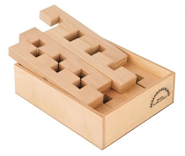T3-Leisten Set mit Holzkiste 12 tlg.