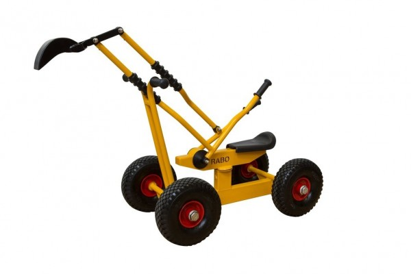 Rabo Sandbagger mit normalen Rädern