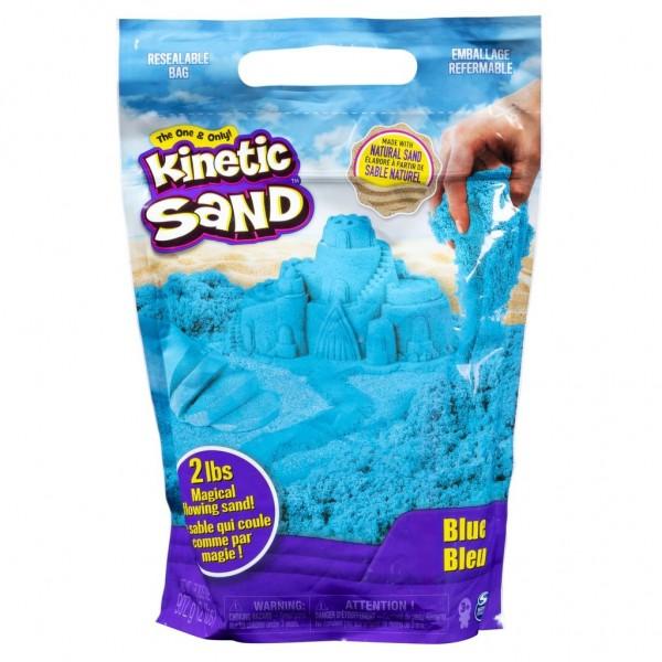Kinetic Sand 3kg, je 1 kg blau, rot, grün