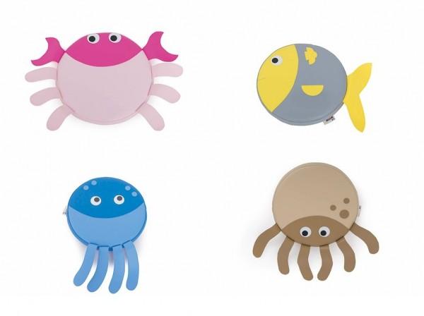Spielkissen Meerestiere (4 verschiedene)