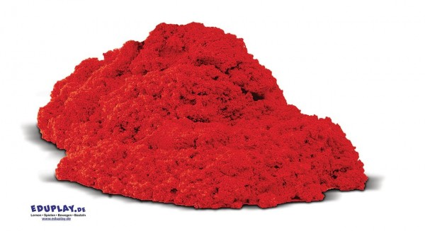 Fließsand 1 kg rot