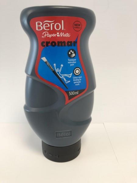 Berol Cromar schwarz 500 ml