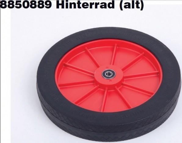 Winther Hinterrad für Turtle 801 (alt) rote Felge