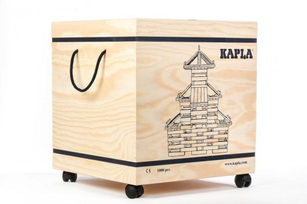 Kapla Baukasten 1.000 tlg. in der Holzbox