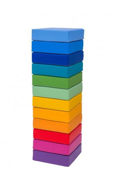 Regenbogensitzkissen 12 tlg.