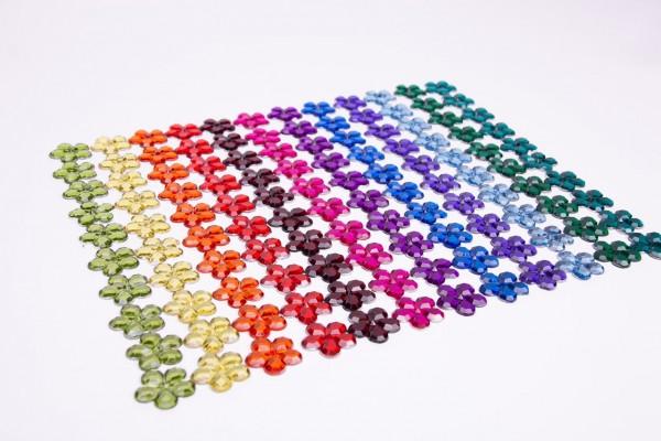 Funkelsteine für Farbenkreis Blumen 120 tlg.