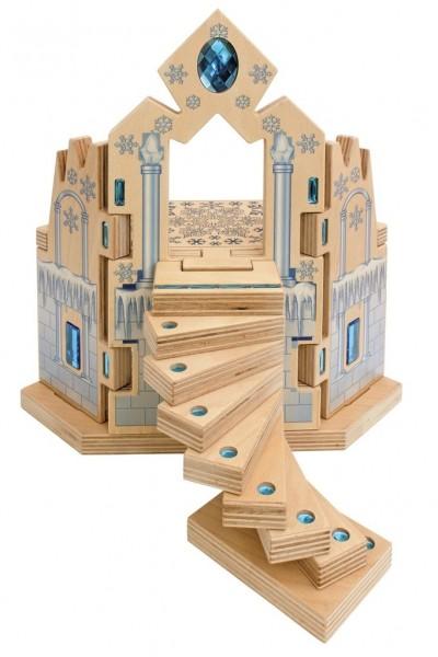 Eispalast Set mit Holzkiste 6 tlg.