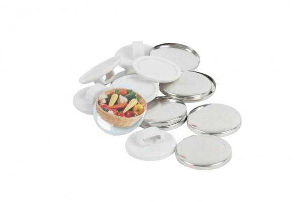 Schnürsenkel-Button Easy 25mm 50er Pack