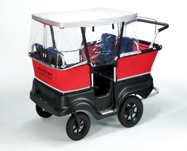 Winther Regenschutz für Turtlebus 4 Sitzer