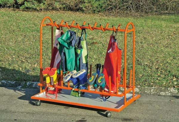 Kinderstiefelwagen orange