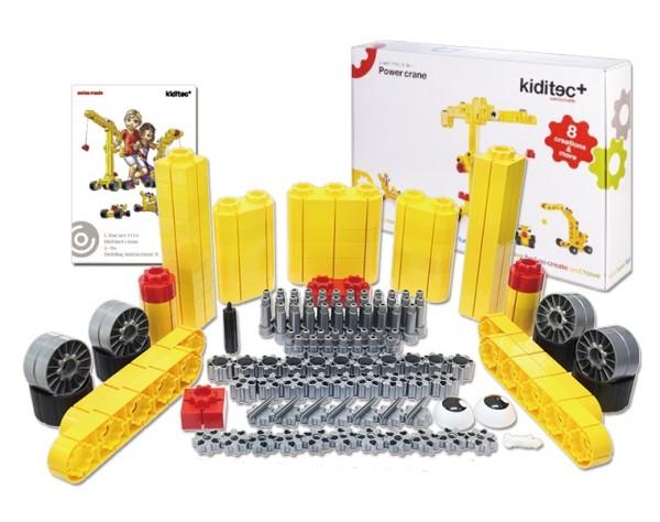 Kiditec L Power crane 151 tlg.