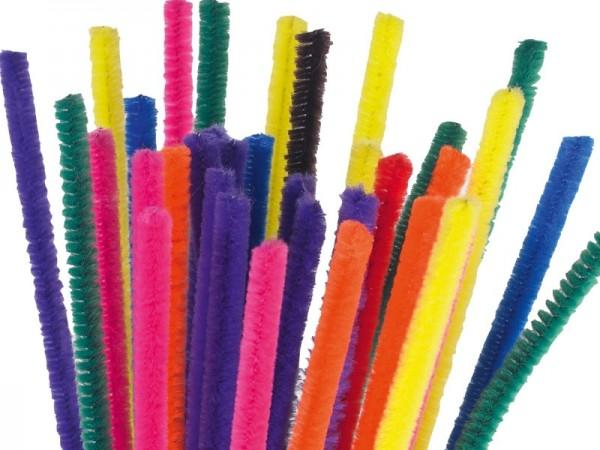 Pfeifenputzer 100er Pack, 10 Farben