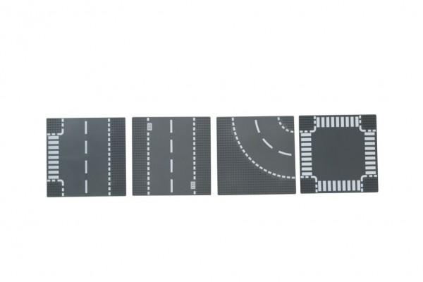 Straßenplattenset 4 tlg.
