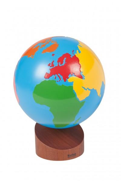 Globus Erdteile Montessori
