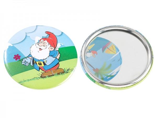 Spiegel Button 56 mm 50er Pack