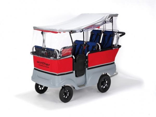 Winther Regenschutz für Turtlebus 6 Sitzer