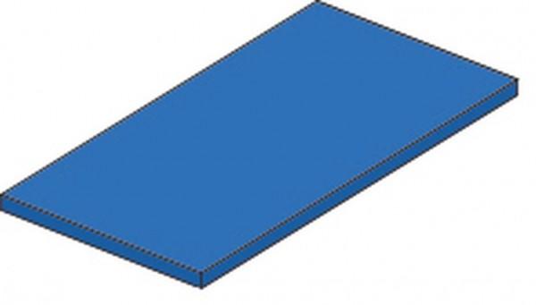Fallschutzmatte FSM 100 x 100 x 6 cm ohne Besatz
